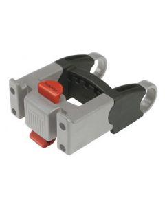 Forlænger som monteres mellem styr og adapteren. Forøger afstanden med 43mm (4,3cm) Længere wire medfølger.