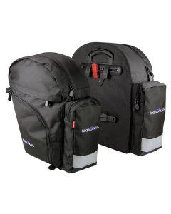 Klickfix BackPack Sidetaske Sæt 2x21L